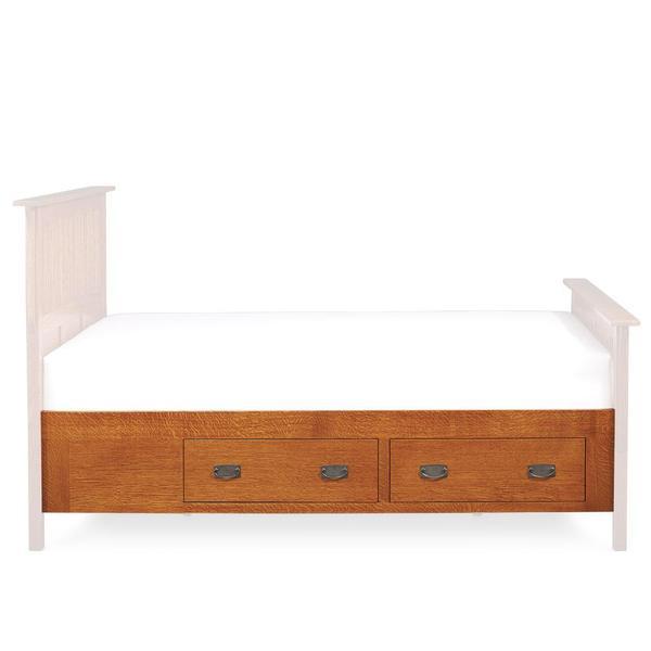 See Details - Prairie Mission Under-Bed Storage, King/Queen