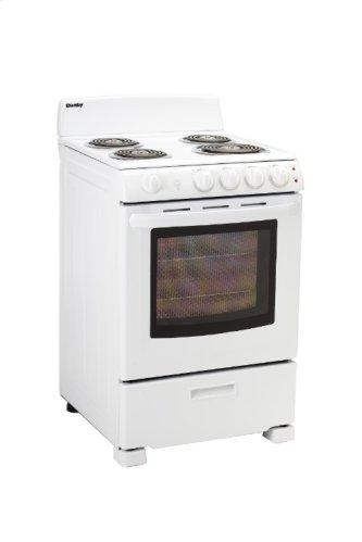 """Danby 24"""" Free Standing Electric Coil Range"""