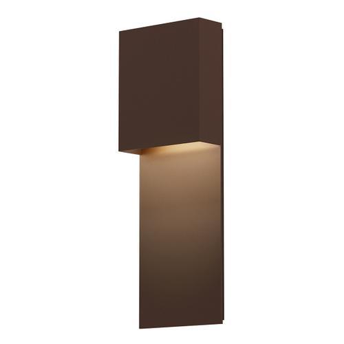 Sonneman - A Way of Light - Flat Box LED Panel Sconce [Color/Finish=Textured Bronze]