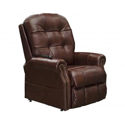 Power Lift Lay Flat Recliner w/Heat & Msg (Italian Leather)
