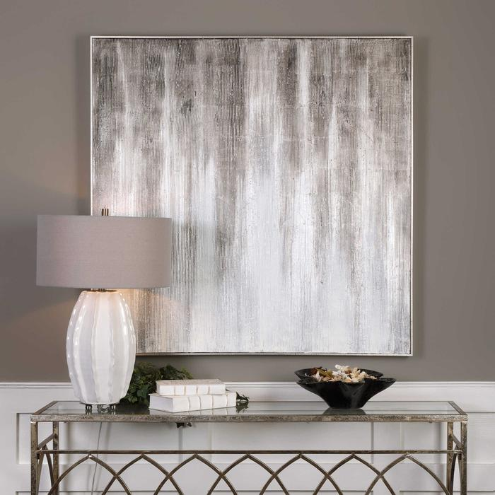 Uttermost - Strait and Narrow Hand Painted Canvas