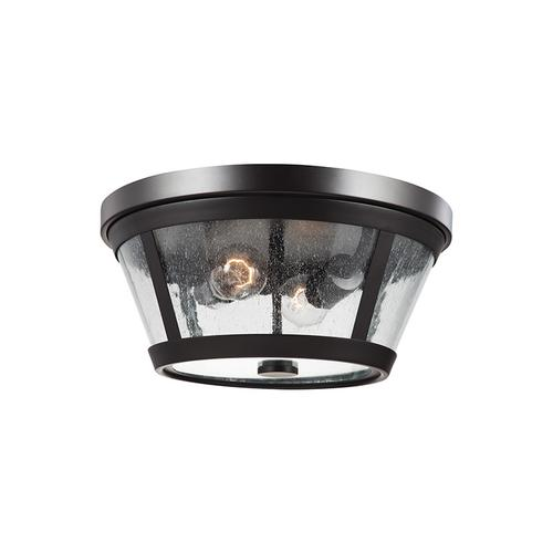 Harrow Flush Mount Oil Rubbed Bronze