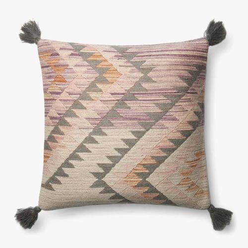 P0645 Pink / Multi Pillow