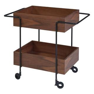 Errol KD Cart, Walnut