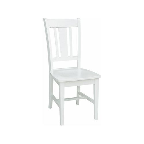 San Remo Chair in Pure White