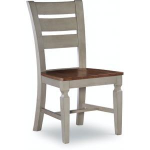 John Thomas Furniture - Laddertback Chair in Hickory & Stone
