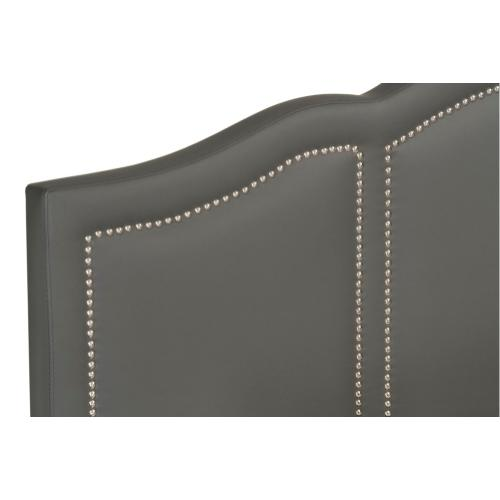 Brentmore King Upholstered Bed, Charcoal