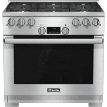 HR 1134-1 G - 36 inch range All Gas with DirectSelect, Twin convection fans and M Pro dual stacked burners