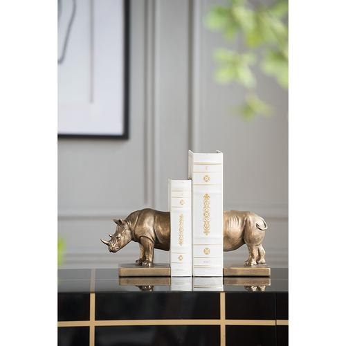 A & B Home - S/2 Bookend