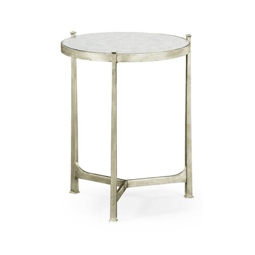 glomise & Silver Medium Iron Lamp Table