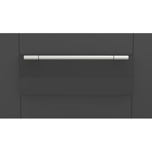 "Fulgor Milano - 30"" Pro Warming Drawer - Glossy Black"