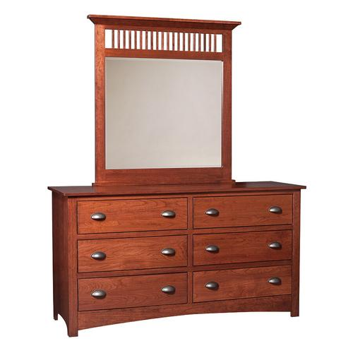 """Country Classic Collection - Mission 63"""" Dresser"""