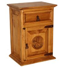 See Details - 1 Drawer 1 Door Night Stand W/star