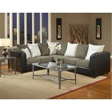 See Details - Trapper Black Sectional