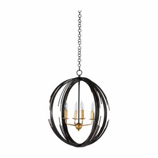 Sperry Chandelier-Bronze