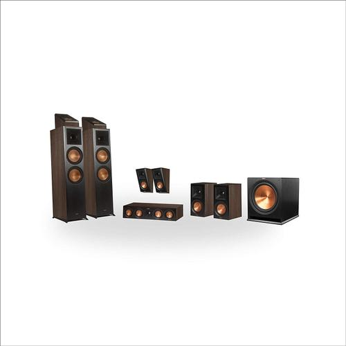 Klipsch - RP-8000F 5.1.4 Dolby Atmos® Home Theater System - Black