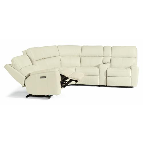 Flexsteel - Rio Power Reclining Sectional with Power Headrests