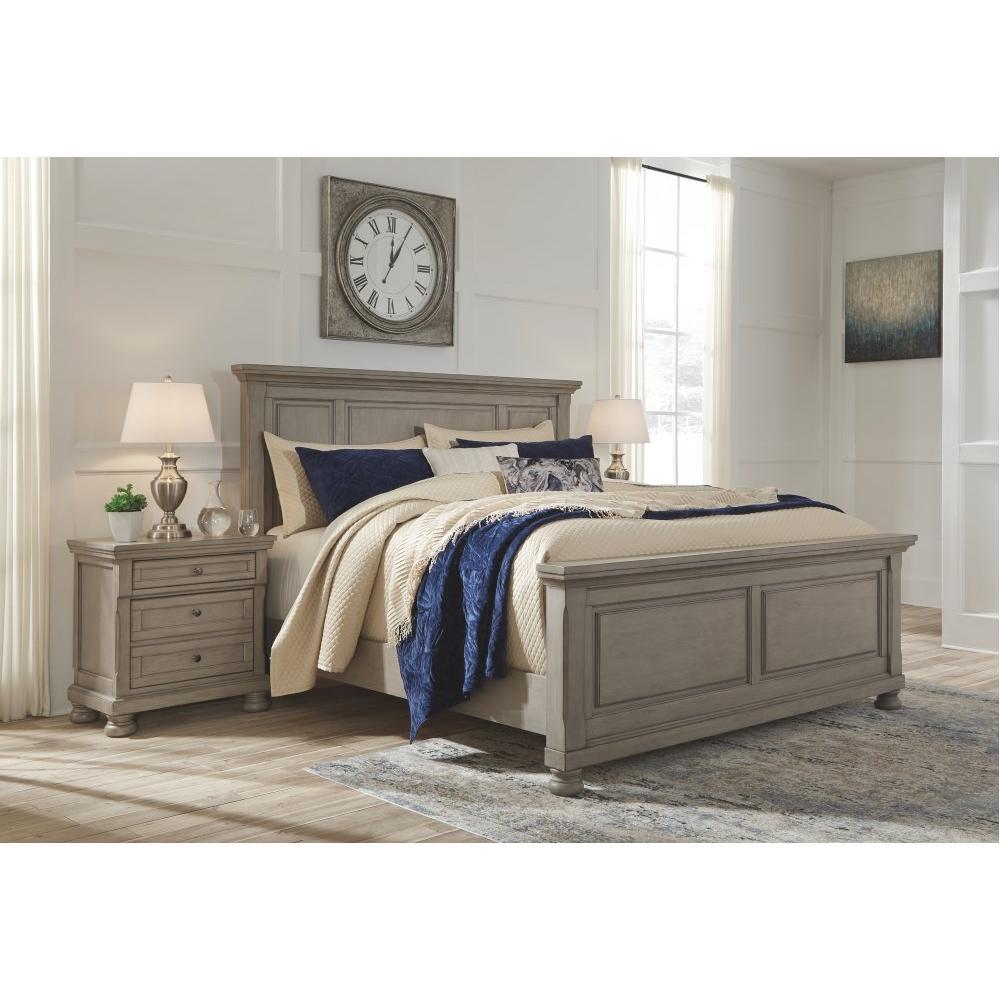 Lettner King Panel Bed