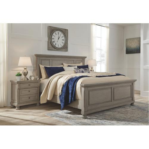 Queen Size Panel Bed