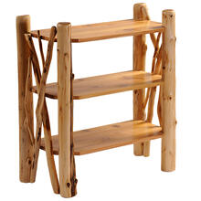 See Details - Twig Bookshelf - Natural Cedar