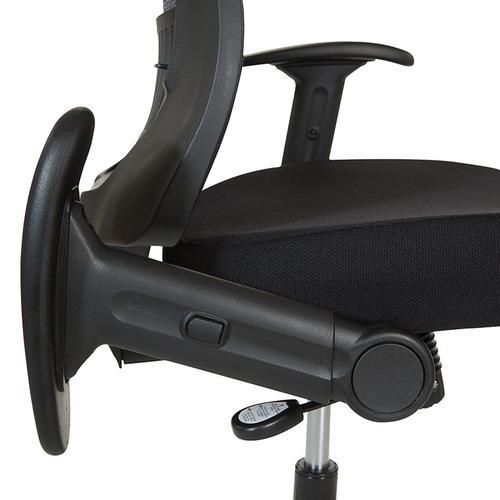 Office Star - Dark Air Grid® Manager's Chair