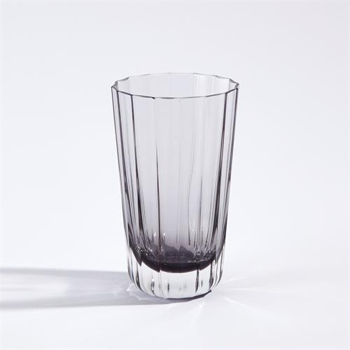 Fluted Glass-Highball-Smoke