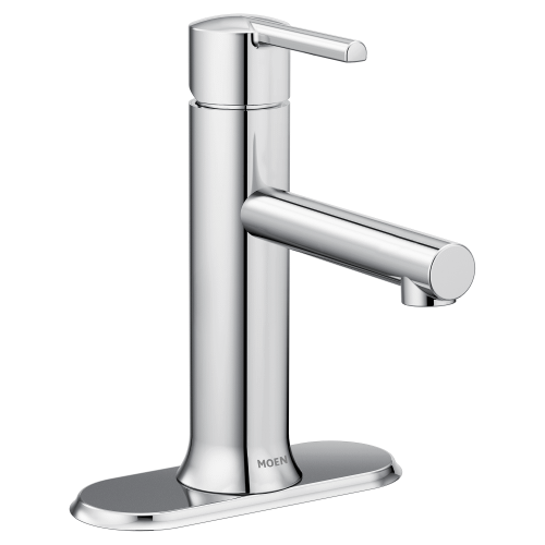 Arlys Chrome One Handle Bathroom Faucet, One Handle Bathroom Faucet
