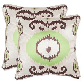 Giselle Pillow - Lime / Green