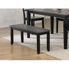 "DLU-EB-BN4  42"" Bench  Black and Gray"