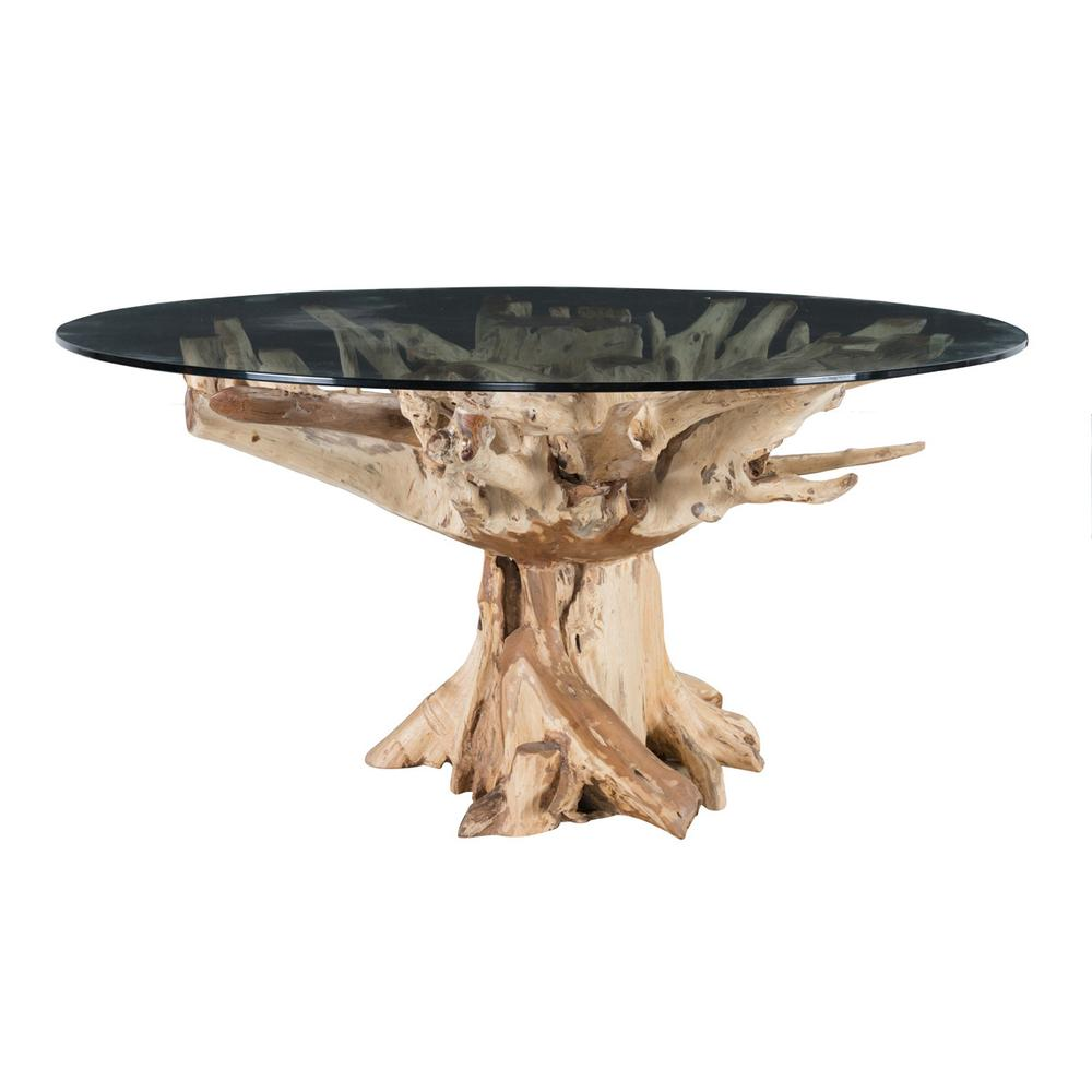 See Details - Willow Dining Table 60\u0022 Natural
