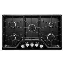 View Product - 36-inch 5-burner Gas Cooktop with Power Burner