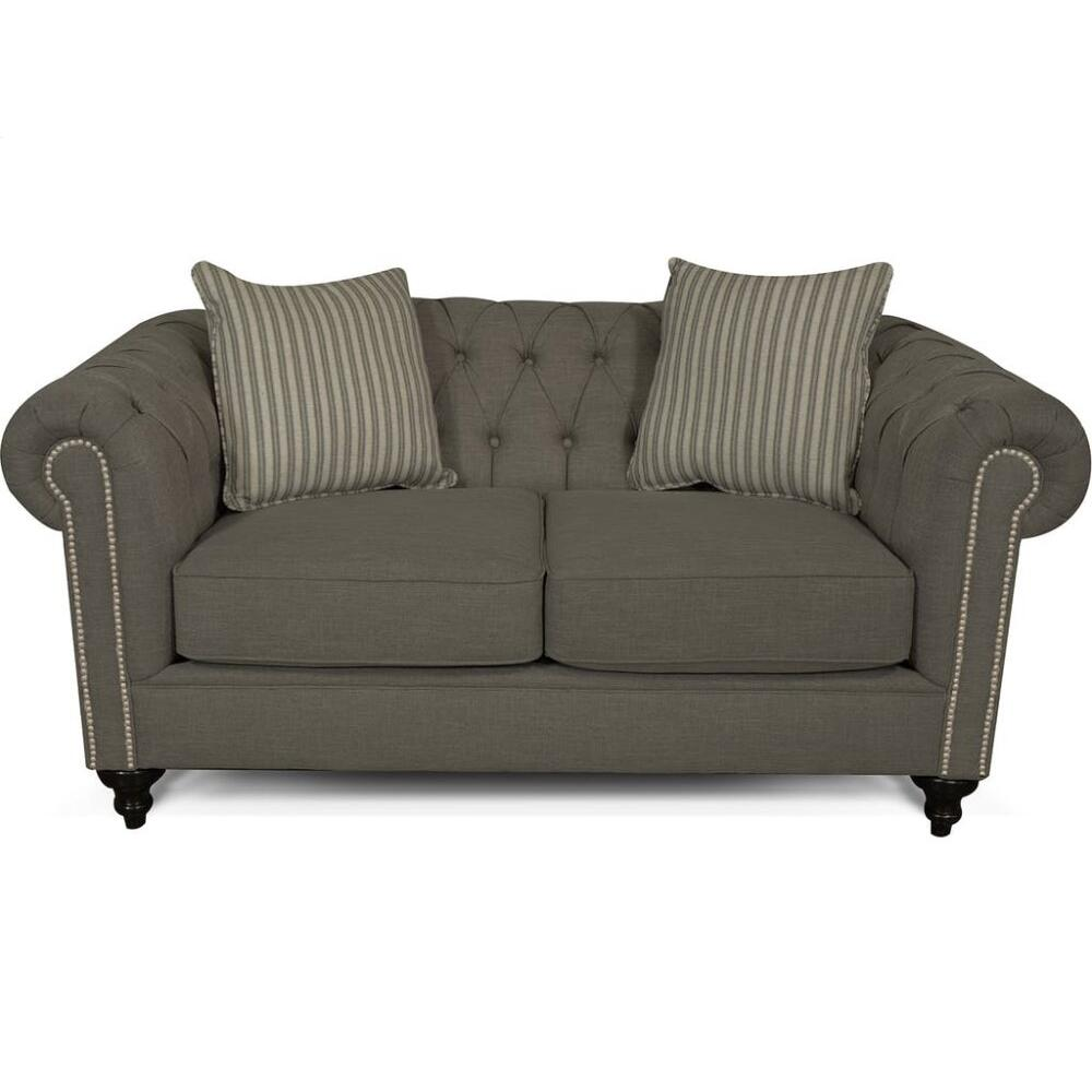 4H06N Brooks Loveseat with Nails