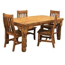 See Details - 6' Rough Pine Table