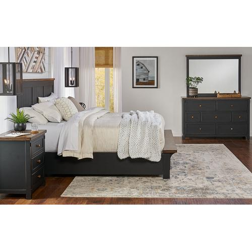A America - CAL KING STORAGE BED