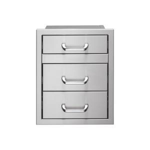 2-Drawer + Utensil Storage