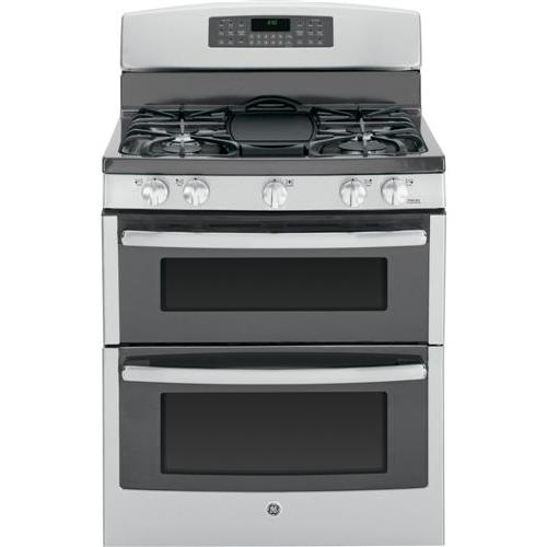 """GE Appliances - GE® 30"""" Free-Standing Gas Double Oven Range"""