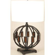 Table Lamp, Metal Body/fabric Shade, E27 Type A 150w