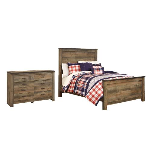 Product Image - Full Panel Bed With Dresser