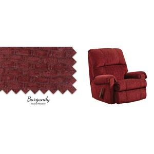 Burgundy Rocker/Recliner