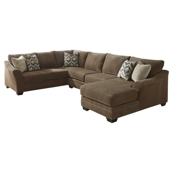 Justyna 3-piece Sectional With Chaise