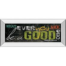 """Good One"" By Maria Rae Mirror Framed Print Wall Art"