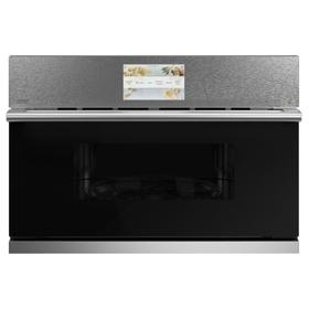 "Cafe 30"" Smart Five in One Oven with 120V Advantium ® Technology in Platinum Glass"