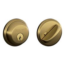View Product - Antique Brass Keyed 1-Side Deadbolt