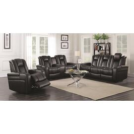 Power Loveseat with Storage and Cup Holders