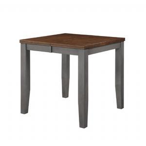 """Casanova Gathering Leg Table W/ 18"""" Leaf"""