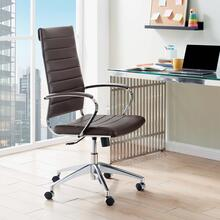 Jive Highback Office Chair in Brown