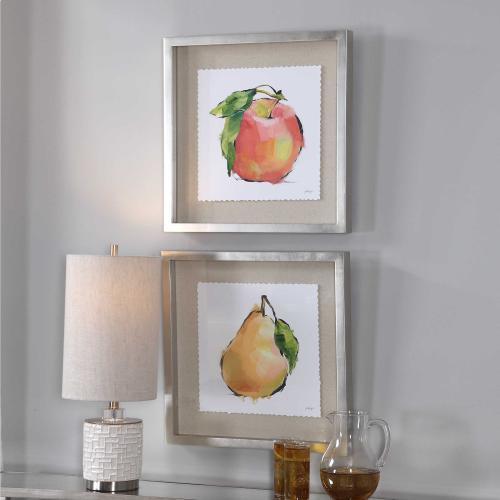 Uttermost - Designer Fruits Framed Prints, S/2