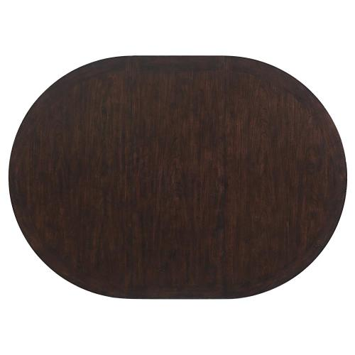 Rosemoor - Round Dining Table Top - Burnt Caramel Finish