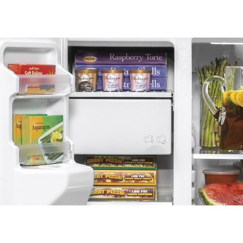 Gallery - GE 25.1 Cu. Ft. Side-By-Side Refrigerator Slate - GSS25IMNES