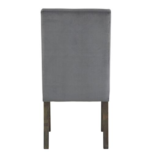 Standard Furniture - Trenton 2-Pack Upholstered Side Chairs, Grey